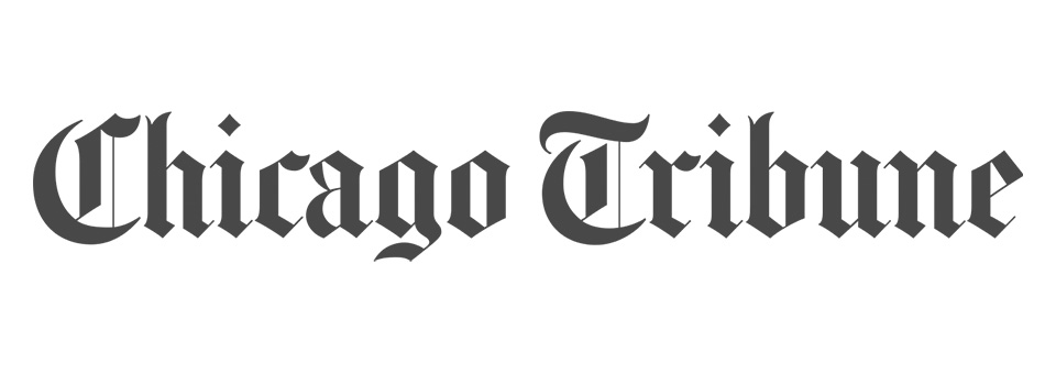chicago tribune logo grayscale