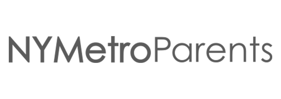 nymetroparents logo grayscale