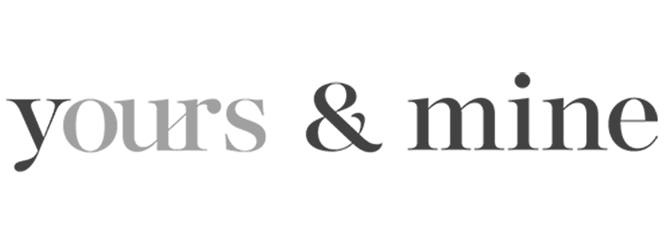 yours & mine logo